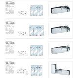 Encaixe da correção de programa da dobradiça do aço inoxidável para moderar o vidro N020
