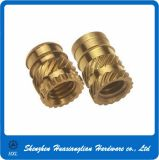 Plastic를 위한 널링 Brass Threaded Insert Nut