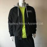 방수 관례에 의하여 수를 놓는 로고 및 남자를 위한 스포츠용 잠바 재킷