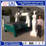 machine à sculpter CNC pour les grandes sculptures en bois de mousse, des statues, des chiffres