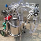Бензин вакуумный насос машинного доения коровы двойной ковша
