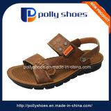 Chaussures en cuir de soutien en or orthèse confort