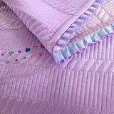 Insieme sottile rovesciabile del Comforter del cotone del copriletto e del Coverlet di trapunta della base