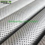 Riga rivestita galvanizzata tubo perforato del tubo d'acciaio di industria di acqua dei tubi d'acciaio ERW