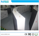 Indicador de diodo emissor de luz fixo normal ao ar livre da instalação da cor P6 cheia
