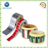 Étiquette imperméable à l'eau de collant de PVC de soins de la peau cosmétiques d'impression de marque de distributeur d'OEM (jp-s034)