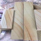 Matériau de construction en grès rouge naturel pour les Carreaux et dalles/Paving Stone