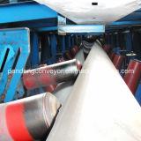機械装置を運ぶ陸上の管のベルト・コンベヤーシステム管のコンベヤー装置の管