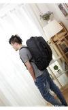 2つの車輪が付いているトロリー人のパック袋が付いている流行旅行バックパック袋