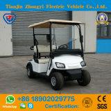 Батарея Zhongyi привелась в действие автомобиль гольфа 2 мест электрический с высоким качеством