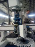 Drillling y trituración de maquinaria con Router CNC máquina para hacer de la puerta de muebles de madera y las piernas