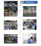 製品のステンレス鋼の金属を打つ部品を押す精密