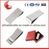 Cuoio caldo della clip dei soldi di marchio di stampa dell'acciaio inossidabile di vendita