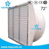 """Sistema refrigerando de ventilador de ventilação da leiteria exaustão de Efficience GF enorme 72 da """""""