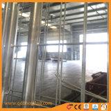 Construção galvanizado o gerador de malha de arame temporária