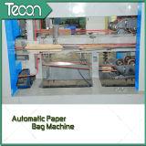 Cadena de producción Parte-Pegada de alta velocidad de la bolsa de papel de la válvula