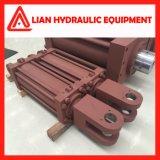 Cilindro hidráulico de energia hidráulica com o êmbolo de aço forjado Rod