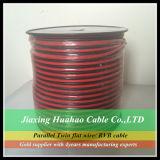 Transparentes Lautsprecher-Kabel des CCA-Leiter-2X18AWG