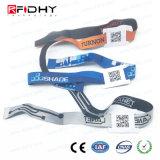 Wristband de la tela del rango largo de RFID para el programa de lectura