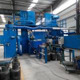 Máquina del chorreo con granalla para la limpieza de la superficie del cilindro del LPG