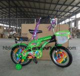 Pretty Style 16 Inch Boa qualidade Kids 4 Wheel Bike Alloy Suspension MTB / Dirt Bike para crianças / crianças Bicicleta com banco traseiro