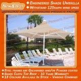 Parapluie pour la voile extérieure d'ombre d'applications de jardin de patio