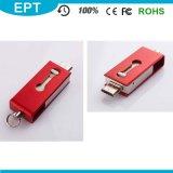 De Aandrijving van de Flits USB van het Embleem OTG van de Douane van de Wartel van het metaal 8GB (TJ128)