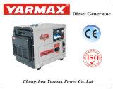 Générateur de type silencieux économique ISO9000 Consumpution d'huile basse