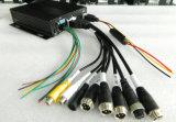 4 Kanal-Auto CCTV-Überwachungskamera-System
