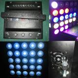 DMX 직업적인 단계 25X10W 점 행렬 LED 효력 빛