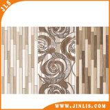 Baumaterial-Gelb-hölzerner Streifen-Küche-Raum-keramische Wand-Fliesen