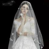 Abito sexy bianco del vestito da cerimonia nuziale delle signore di Lovemay
