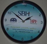 """La publicidad de impresión personalizado Reloj de pared de Quatz 30"""""""