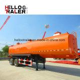 3 de assen China maakten de Aanhangwagens van de Tanker van /Fuel van de Olie 40000L
