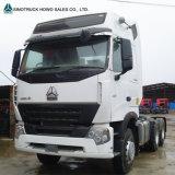 Sinotruk HOWO 371 principal motor do cabeçote de caminhões trator nas Filipinas