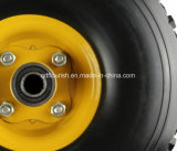 Pollice solido 3.50-4 della rotella 10 del carrello della gomma piuma dell'unità di elaborazione