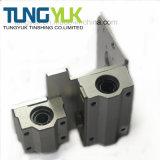 Pezzi meccanici personalizzati di precisione di CNC usati sulle parti di motore