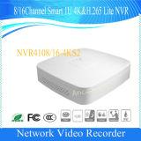 Canal Dahua 4/8/16Smart H. 265 Lite 4K 4K de la sécurité (NVR NVR4104-4KS2/4108-4NVR NVR4116-4KS2/KS2)