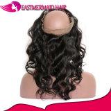 Оптовая торговля 360 кружева фронтальной закрытие Бразильский орган волна закрытия детского волос