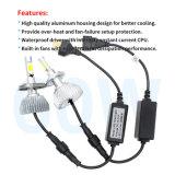 차 로고와 H4 자동 LED 헤드라이트를 가진 무선 LED 문 의례 빛