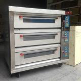 3-Deck 6-Pan Nuevo cable eléctrico / horno horno de pan / horno de pizza