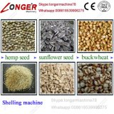 Escudo da semente do girassol de Dehuller da semente de cânhamo da fonte da fábrica que remove a máquina