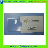De Referentie Magnifier Hw804 van pvc van de Grootte van de Portefeuille van het Embleem van het Bedrijf van de douane