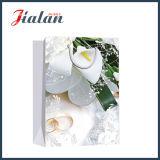 Custom 4c imprimé bague de mariage de l'emballage cadeau de shopping les sacs en papier