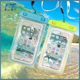 Bolso subacuático impermeable de la cubierta del caso para el teléfono móvil