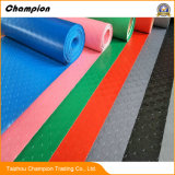ベストセラーの安い防水反スリップPVC床のマット/屋内屋外PVCプラスチックガレージの床のマット