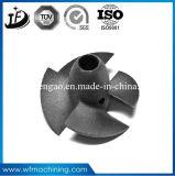 Peças personalizadas da válvula da carcaça de aço do molde com processo da carcaça de areia