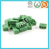 Блок PCB винта тангажа оптовой продажи 5.08mm терминальный