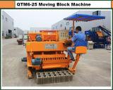 Подвижная6-25 Qtm бетонную стену блок машины