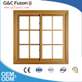 Ultimo disegno Windows di alluminio lustrato doppio della griglia di finestra di alluminio